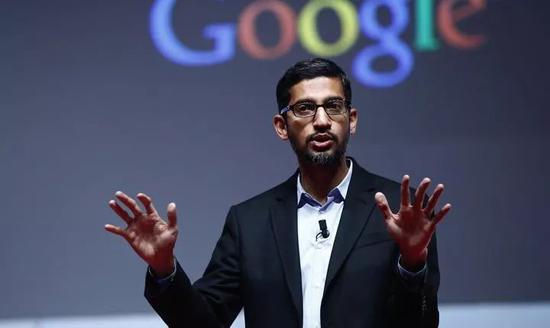 ▲出生于印度的谷歌CEO桑达尔·皮查伊(盖帝图像)