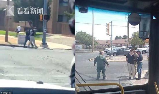 美国得州沃尔玛枪手被生擒 目击者:他平静自信|沃尔玛