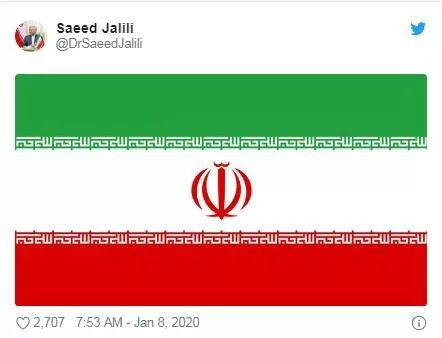 赛义德·贾利利推特截图