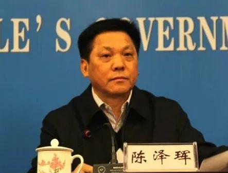 长沙市原常务副市长陈泽珲被捕!图片