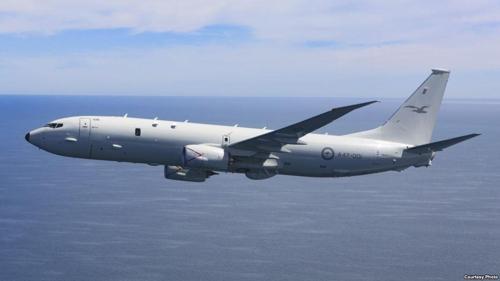 澳大利亚计划派遣的P-8A 型反潜巡逻机(韩联社)