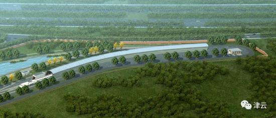 某地地铁出入线隧道口保护方案设计