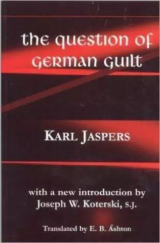 雅思贝尔斯《德国罪过问题》英文版