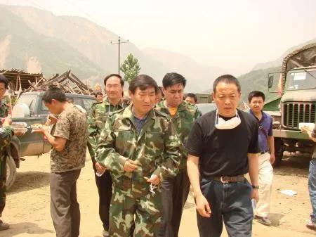 汶川地震感动中国的县长,履新了图片