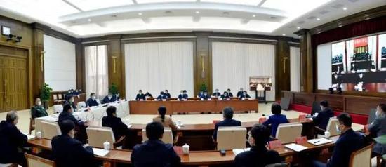 副市长等18人被问责后 省委指导组组长王永康带队赶赴哈尔滨图片