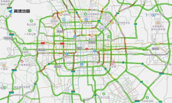 北京:下周工作日高速路进京方向早高峰将持续40分钟图片