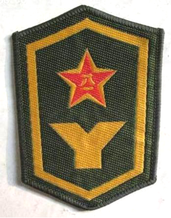 89式预备役臂章。