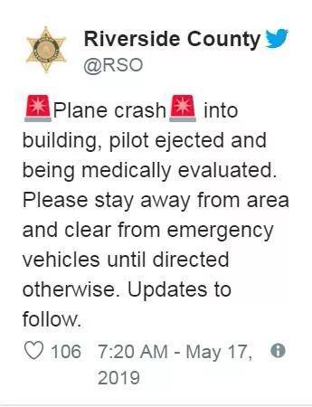 当地警方推特截图