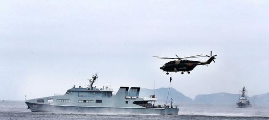 五天内 驻港部队有两条重磅发布图片