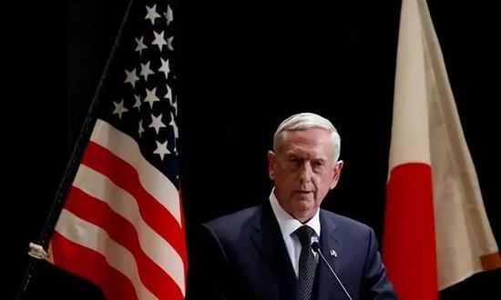 """美国国防部长""""战僧""""马蒂斯"""