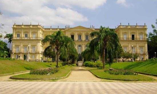 火灾前的巴西国家博物馆