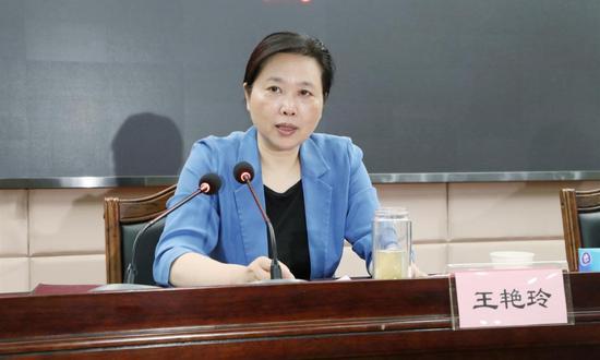 中央候补委员王艳玲出任湖北政法委书记图片