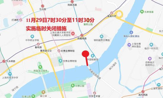 """""""下马""""下周日开跑 上海这些路途将暂时交通控制(图8)"""
