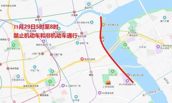 """""""下马""""下周日开跑 上海这些路途将暂时交通控制(图4)"""