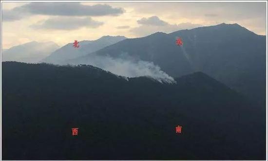 四川省凉山州木里县森林火灾