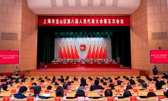 陈杰当选上海宝山区长 贡凤梅为区人大常委会副主任图片