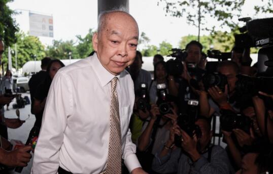 泰国前外长苏拉朋被判处2年监禁。(图源:泰国《民族报》)