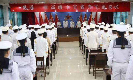 ▲东部战区海军某观通旅。