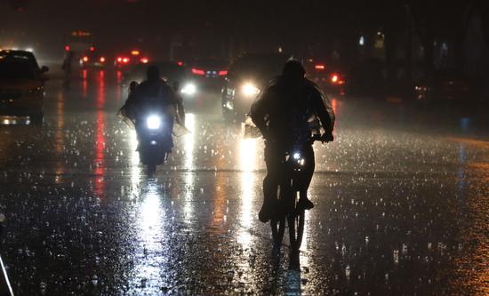 北京夜雨如约而至 这里下得最大(图)