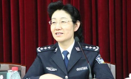 """公安部新增一位女性部领导 为""""老公安""""(图)"""