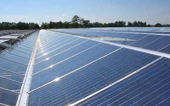 太阳能电池板。(资料图)