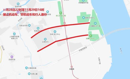 """""""下马""""下周日开跑 上海这些路途将暂时交通控制(图1)"""