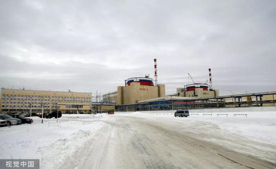▲资料图片:俄罗斯罗斯托夫地区的伏尔加顿斯克核电站
