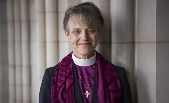 圣公会华盛顿教区主教玛丽安•埃德加•布德 资料图
