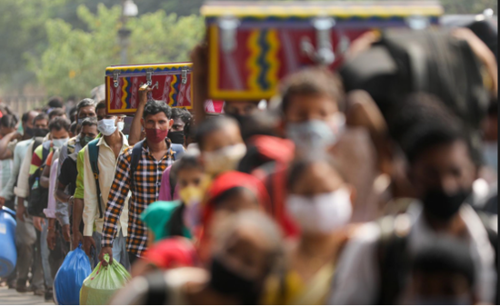 印度最高法院超五成工作人员新冠检测阳性,全体法官居家办公