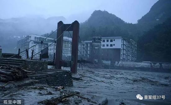 汶川山洪泥石流已致8死26失联 消防挨家挨户排查|汶川|山洪|泥石流