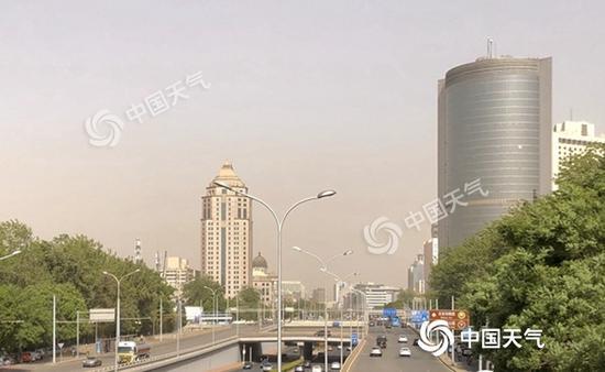 天富:警惕沙尘天富晴热在线最高温达30℃图片