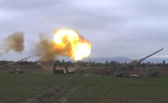 亚美尼亚:阿塞拜疆军队一日内540人阵亡 超700人伤