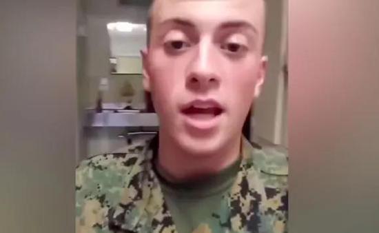 美士兵扬言对中国人开枪 美网友喊话军方:开除种族主义者!图片