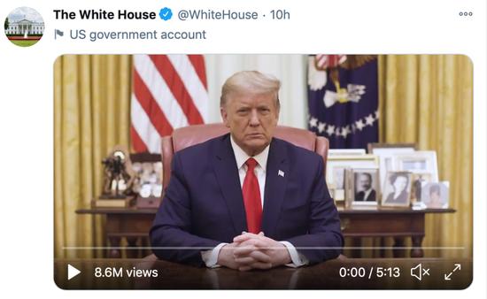 """特朗普被美国主流社交媒体""""封杀"""",你怎么看?"""