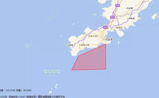 渤海海峡黄海北部,4月27日1600时至5月4日1600时,在