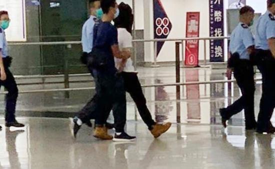 袭警男子在机场被捕