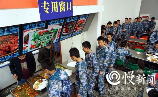 海航班的专用就餐区