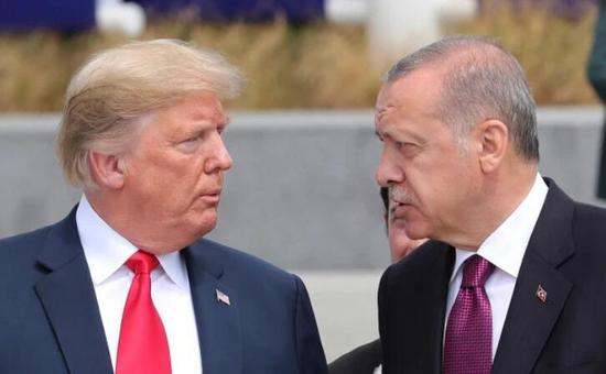 白宫:埃尔多安邀请特朗普2019年访问土耳其