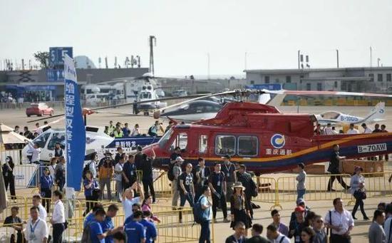 ▲资料图片:第十二届中国国际航空航天博览会在广东珠海国际航展中心开幕(新华社)