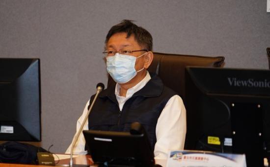 台北市長柯文哲疑沾染諾羅病毒 忽然撤消公開行程圖片