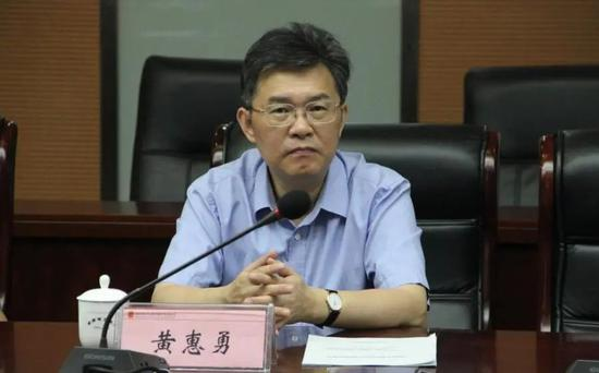 湖南省卫健委原党组副书记、副主任黄惠勇被