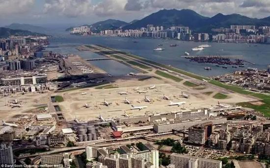 已被改建的香港启德机场