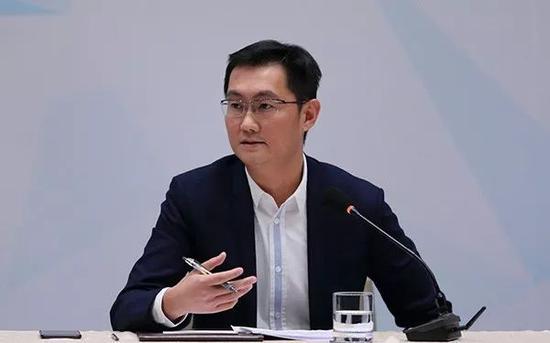 ▲腾讯公司董事局主席兼CEO马化腾(东方IC)