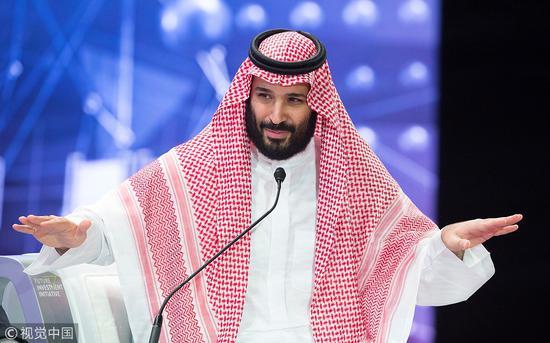 沙特王储穆罕默德·本·萨勒曼(视觉中国)