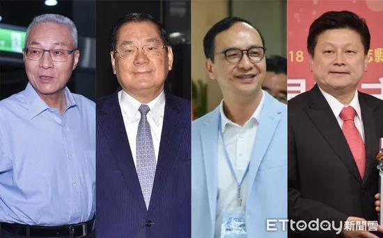 吴敦义、曾永权、朱立伦,傅崐萁都被训话抢台立法机构责任人之职