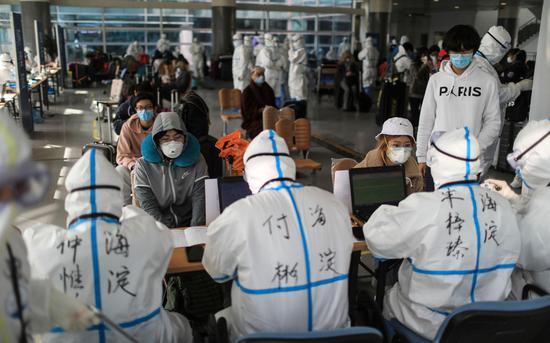 海淀从新国展转运千余名境外返京人员,至今无一例确诊图片