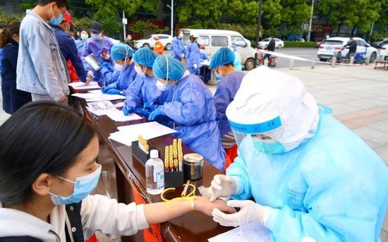 「华美」0个社区华美11万人排查无症状感染者一周出图片