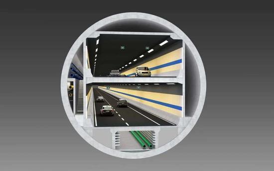 东湖段盾构隧道横断面图