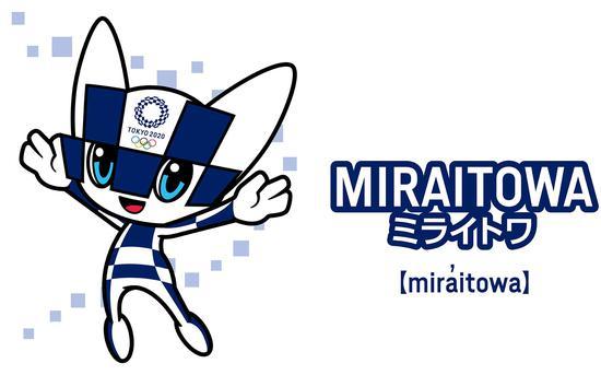 东京奥运会吉祥物作者是位插画师。图/社交媒体