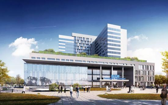 清华长庚医院二期、积水潭医院回龙观院区二期三年建成投用图片